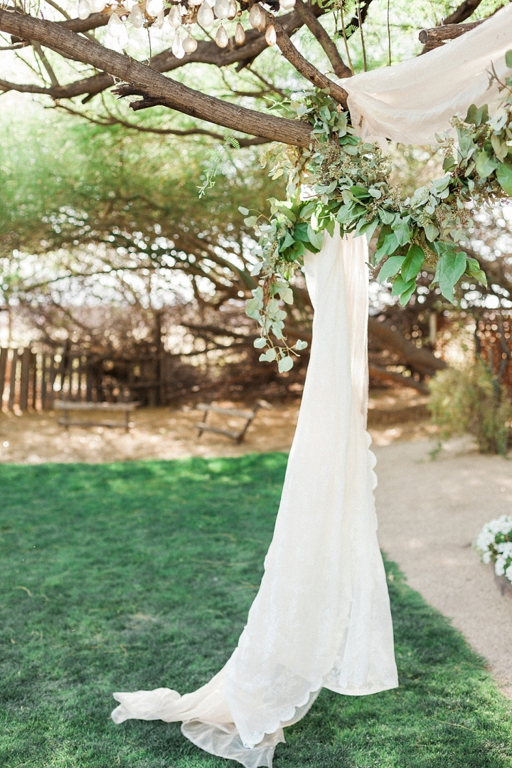 Whispering Tree Ranch Wedding | White ceremony drape | ST. LOUIS JEWISH WEDDING TRADITIONS | & ST. LOUIS JEWISH WEDDING TRADITIONS | CEREMONY | St. Louis Wedding ...