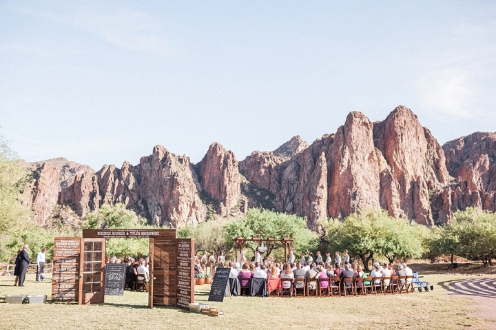Saguaro Lake Guest Ranch Ceremony site | ST. LOUIS JEWISH WEDDING TRADITIONS | CEREMONY | St. Louis Wedding Photographer